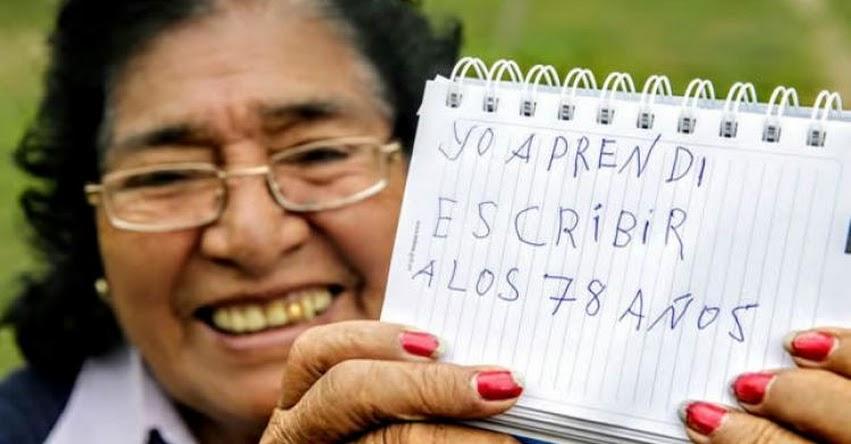 MINEDU: La tasa de analfabetismo se ha reducido en los últimos cinco años - www.minedu.gob.pe