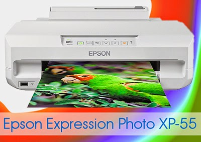 Epson Photo XP-55 setup
