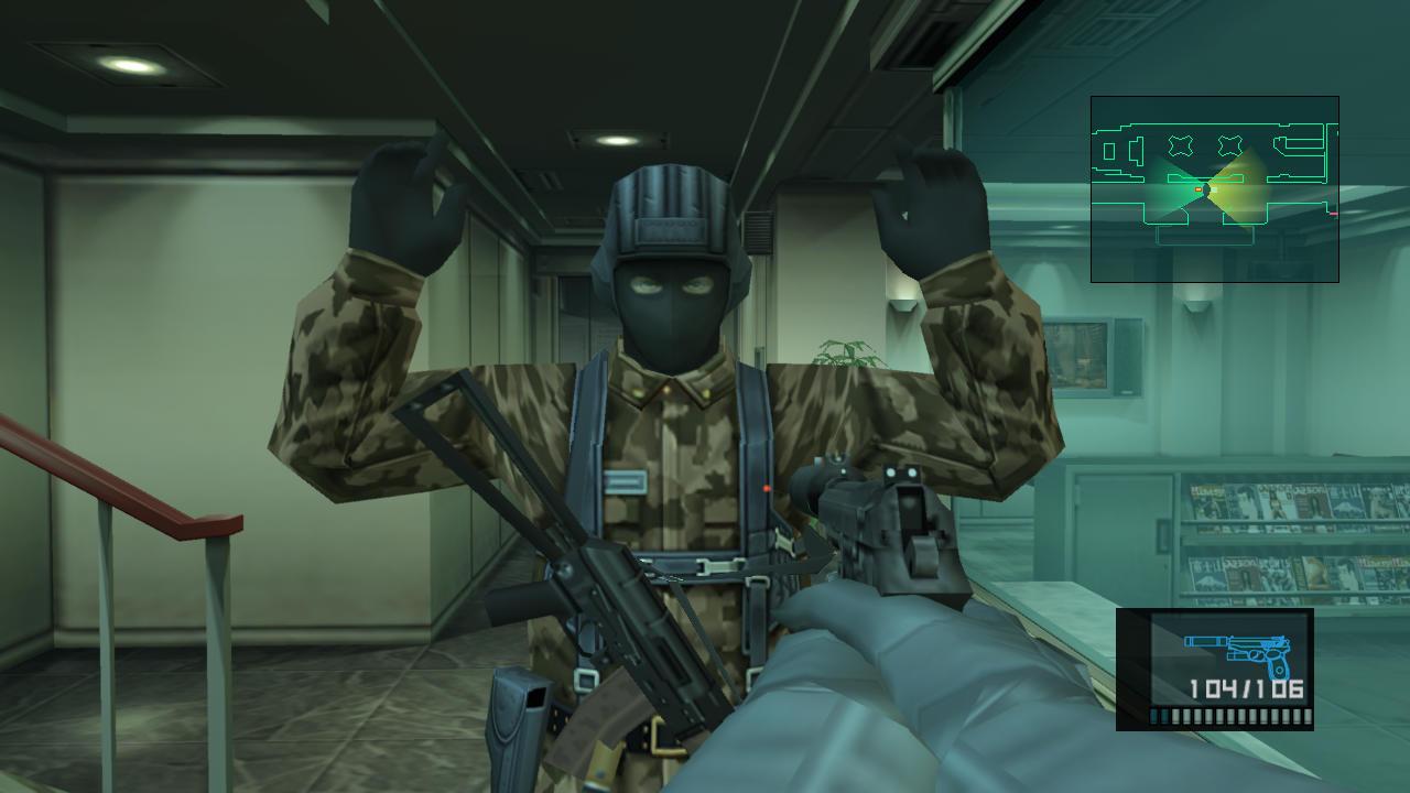 Análisis de Metal Gear Solid HD Collection