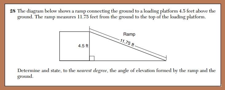 X why daily regentstrigonometric ratios june 2015 geometry june 2015 questions 28 ccuart Gallery