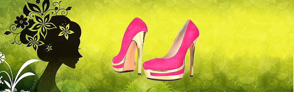 Cone Platform High Heels
