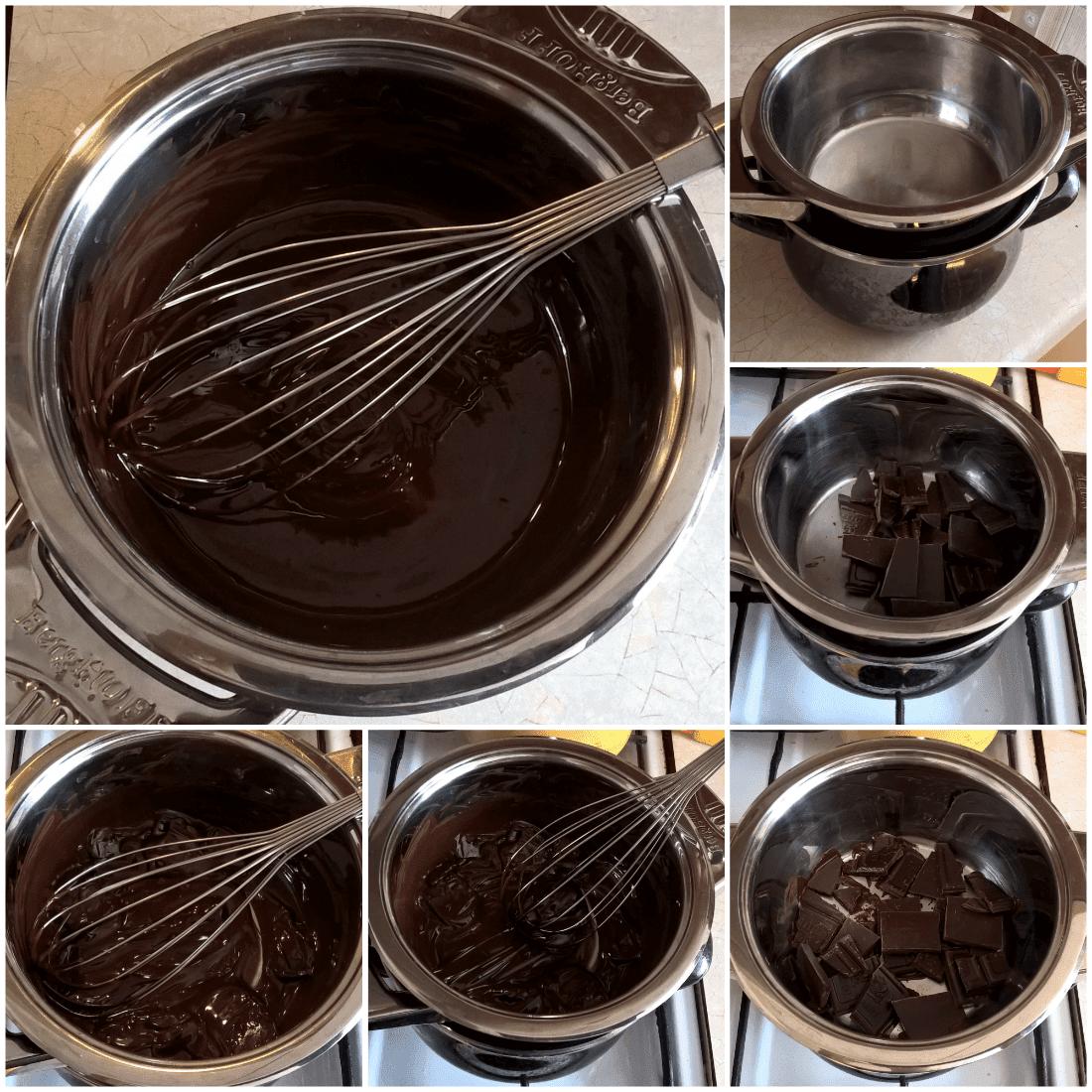 jak rozpuścić czekoladę wkąpieli wodnej