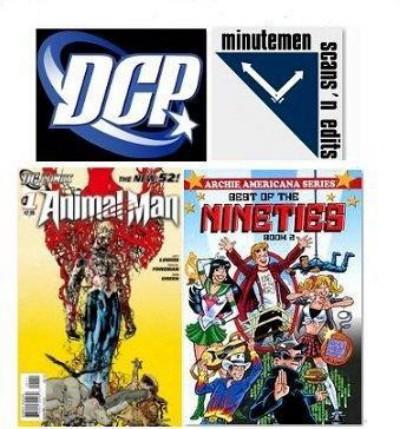 Colección de Comic DCP y Minutemen