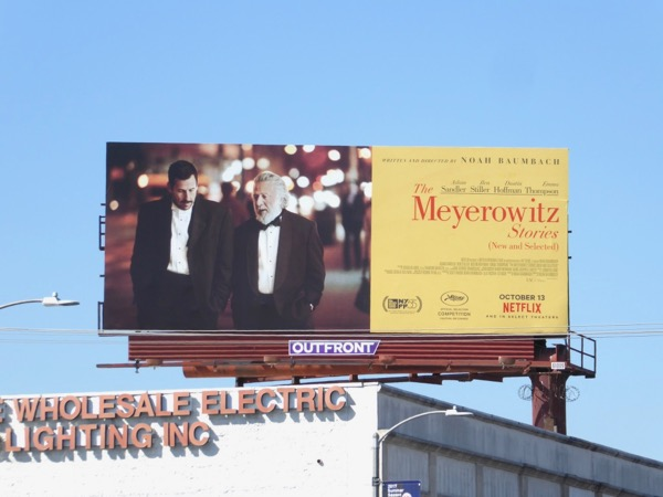 Meyerowitz Stories billboard