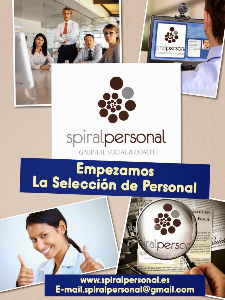 Selección de Personal. Spiral Personal.Gabinete Social & Coach