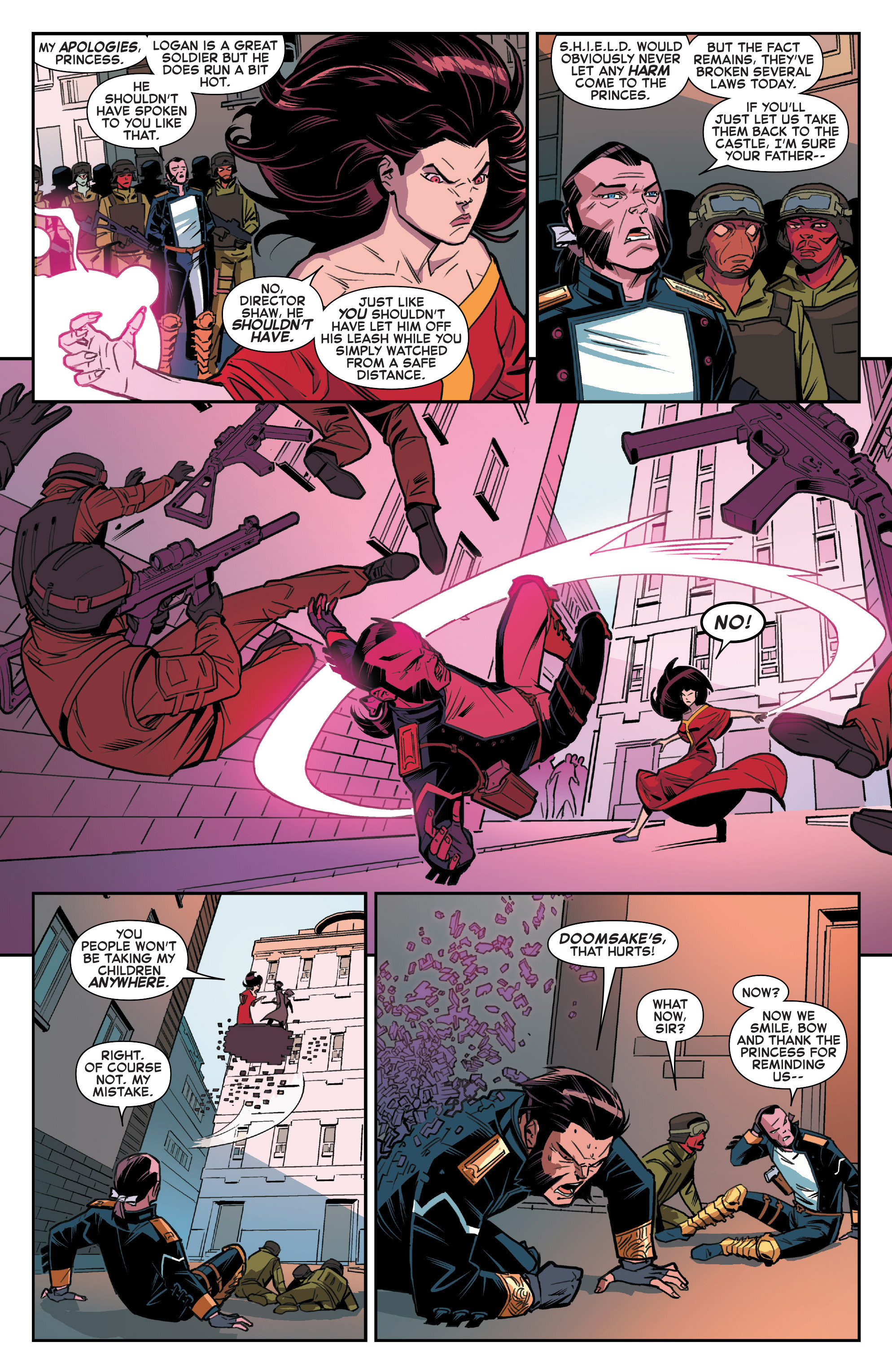 Read online House of M (2015) comic -  Issue #2 - 10