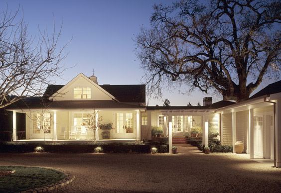 His Is A Classic American House Combined With Modern Details And Amenities Wonderful Sight Lines Clean Landscape