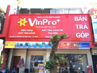 Làm biển quảng cáo giá rẻ tại TP Vinh, Nghệ An