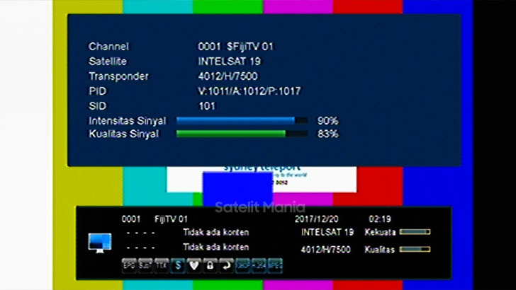 Cara Tracking Channel FijiTv