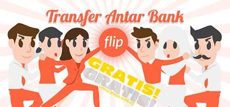 Cara Registrasi di Flip.Id Transfer Saldo Antar Bank Gratis