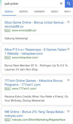 Jasa Google Adwords Khusus Website Web Betting Terpercaya