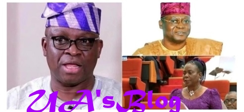 You can leave PDP - Fayose tells Adeyeye, Senator Olujimi, others