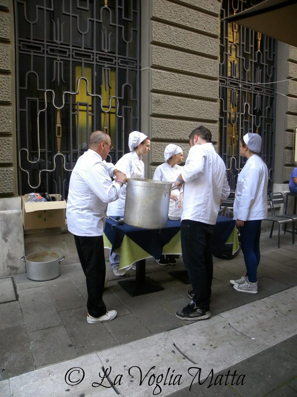 Fasolada a Trieste per Barcolana 46