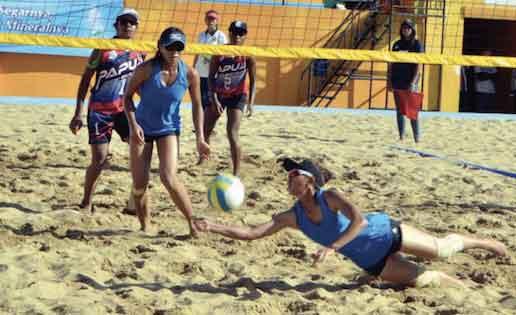 pbvsi jabar minta jaring atlet bola pasir