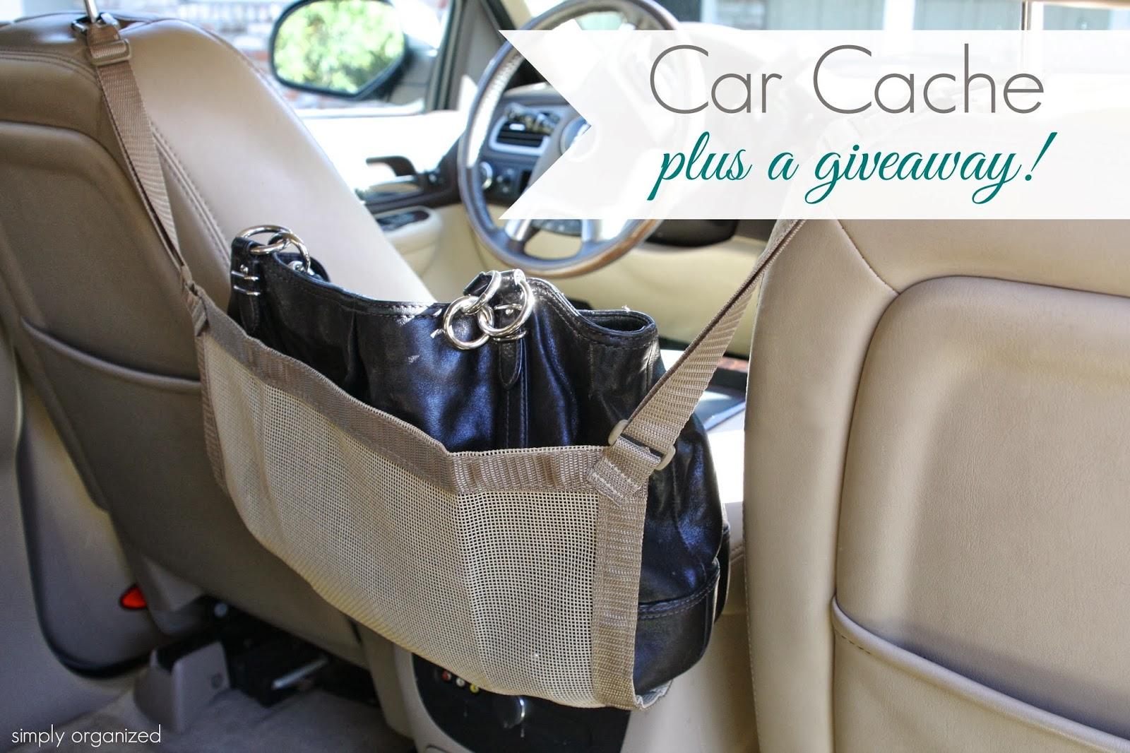 Car Cache: Handbag Storage Solution + a Giveaway! - simply ...