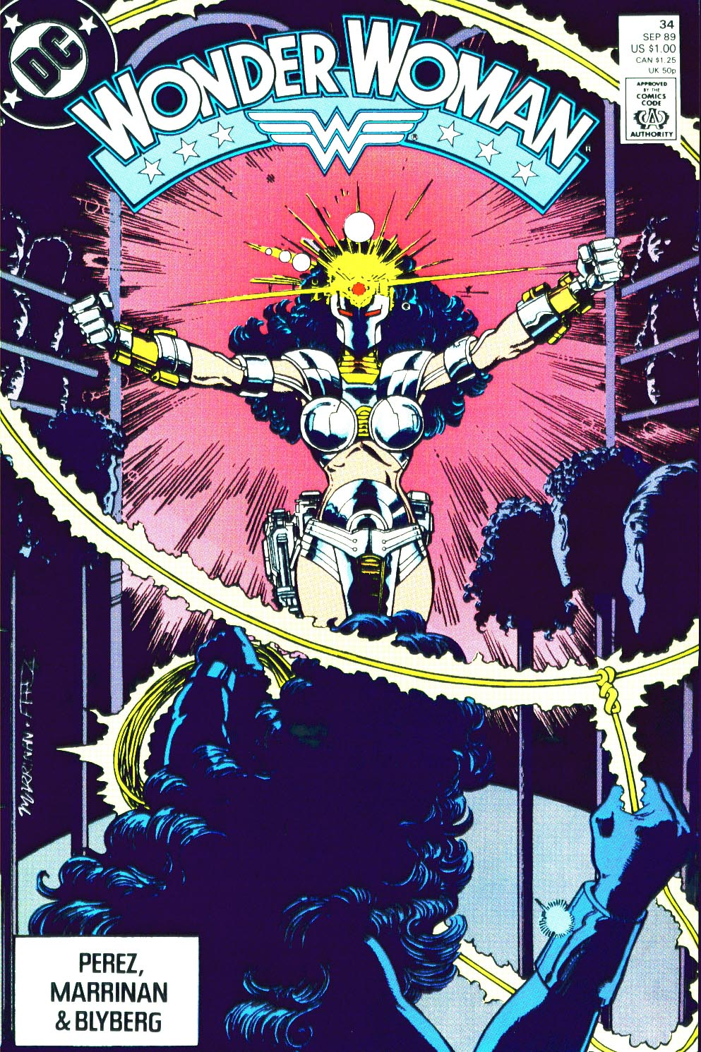 Read online Wonder Woman (1987) comic -  Issue #34 - 1