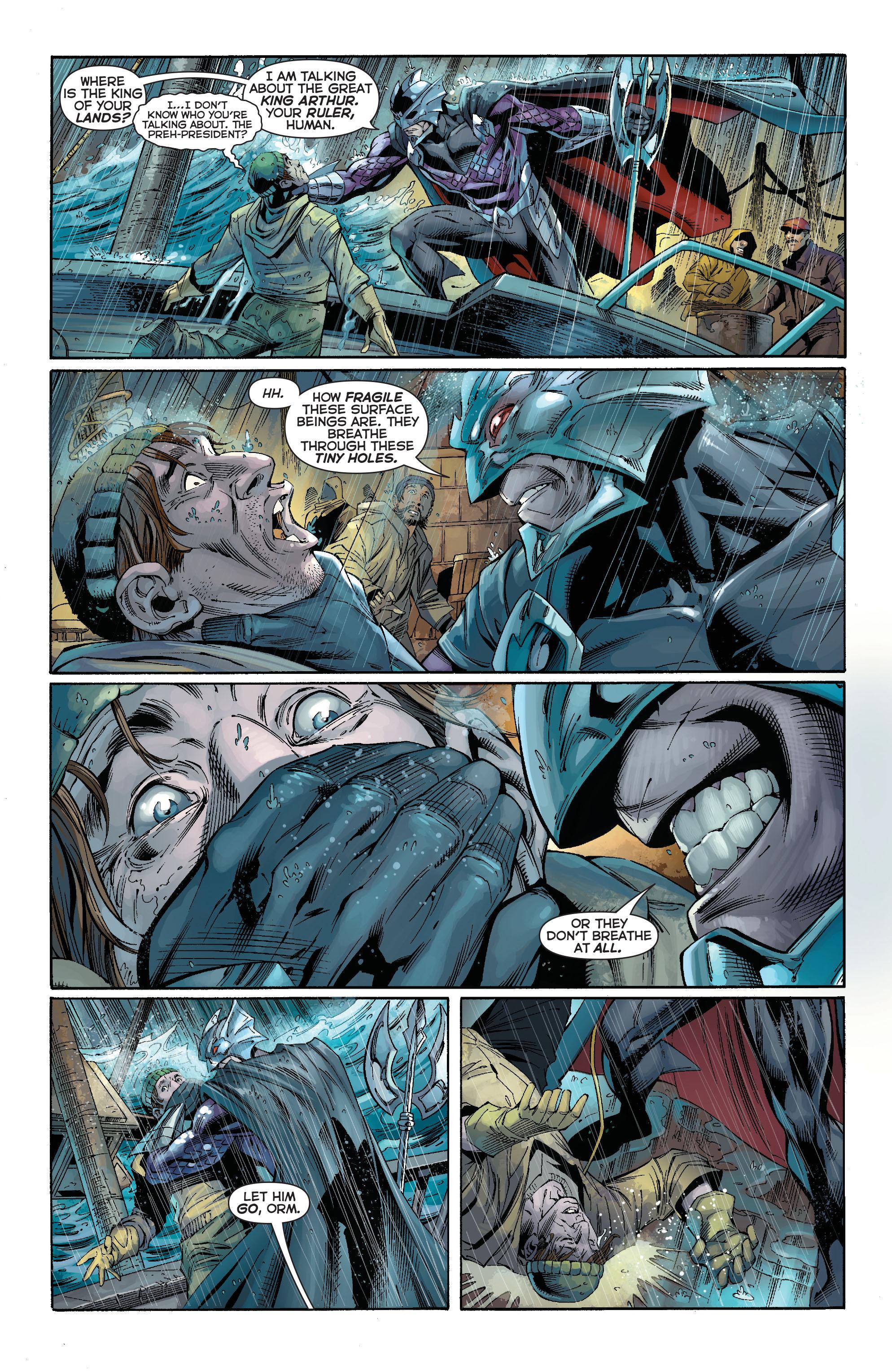 Read online Aquaman (2011) comic -  Issue #15 - 19