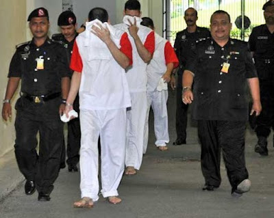 Three Mexican brothers sentenced to death in Malaysia for drug trafficking in 2012