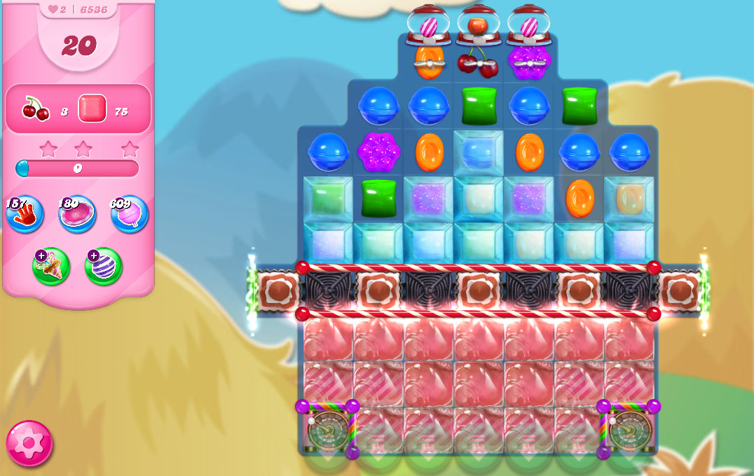 Candy Crush Saga level 6536
