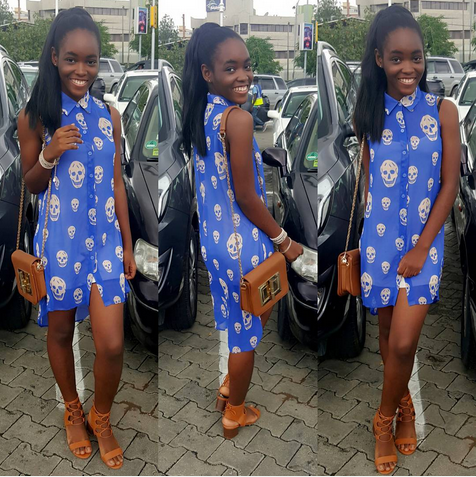 Mercy Aigbe And Her Two Kids Hang Out In Style Photos