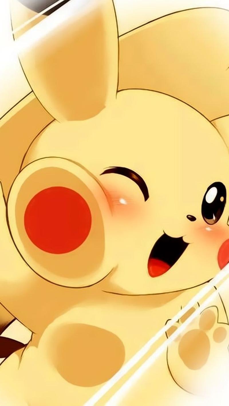 wallpaper para celular fofo pikachu