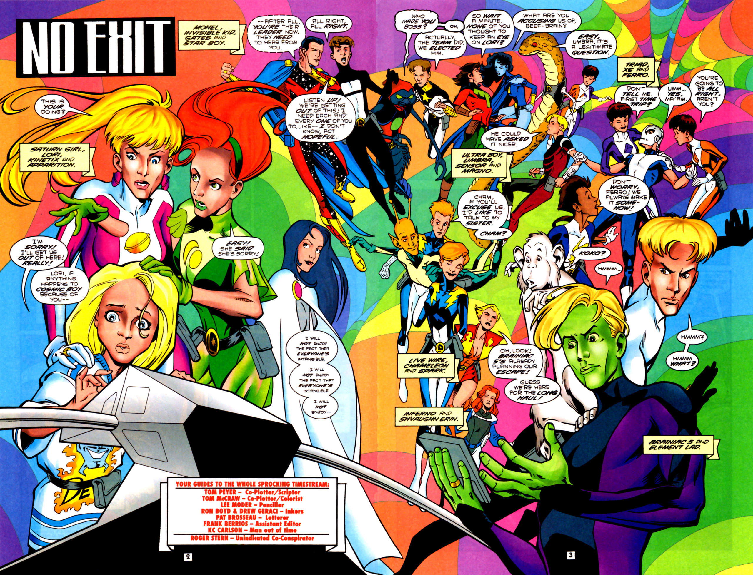 Legion of Super-Heroes (1989) 91 Page 2