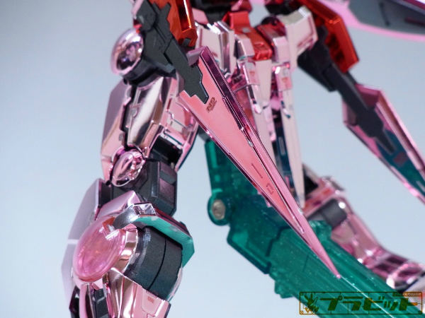 Custom Build: MG 1/100 Gundam Exia [Trans-Am Plated ver.]