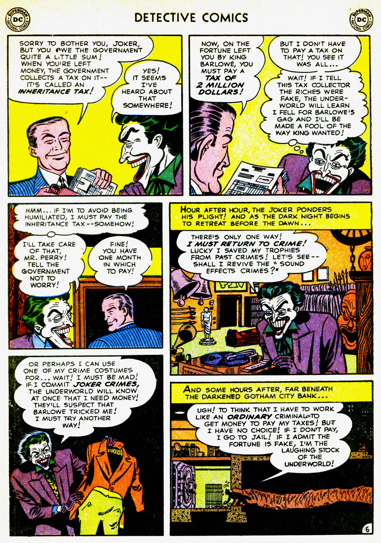 Detective Comics (1937) 180 Page 8