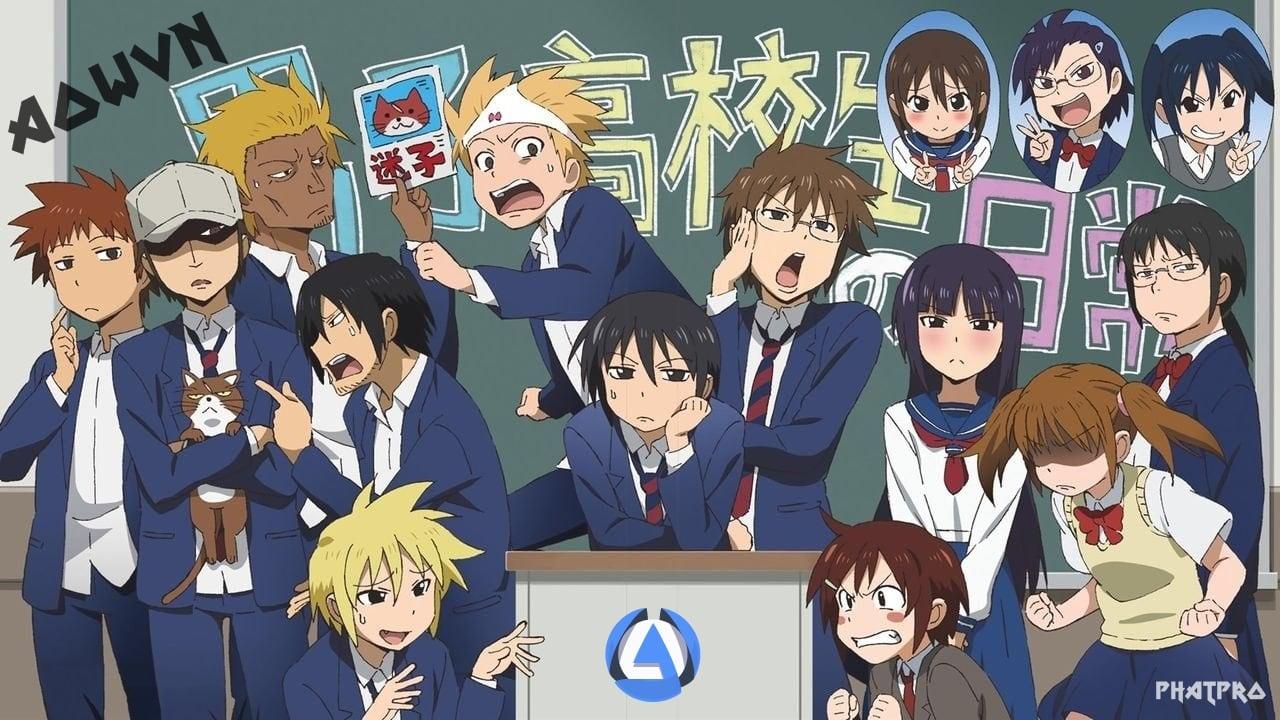 Danshi%2B %2BPhatpro%2B%25282%2529 min - [ Anime 3gp Mp4 ] Danshi Koukousei No Nichijou + SP | Vietsub - Học Đường Cực Hài Và Bựa