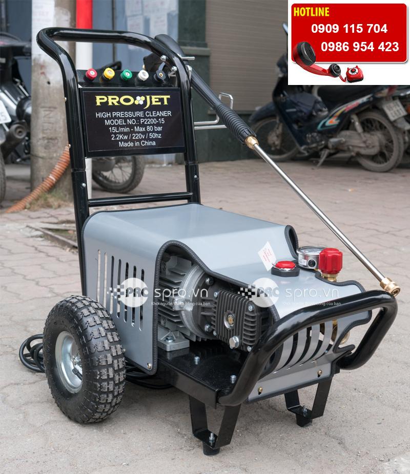 Máy phun rửa cao áp Project giá tốt số một thị trường