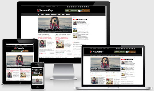 NewsKey Blogger Template