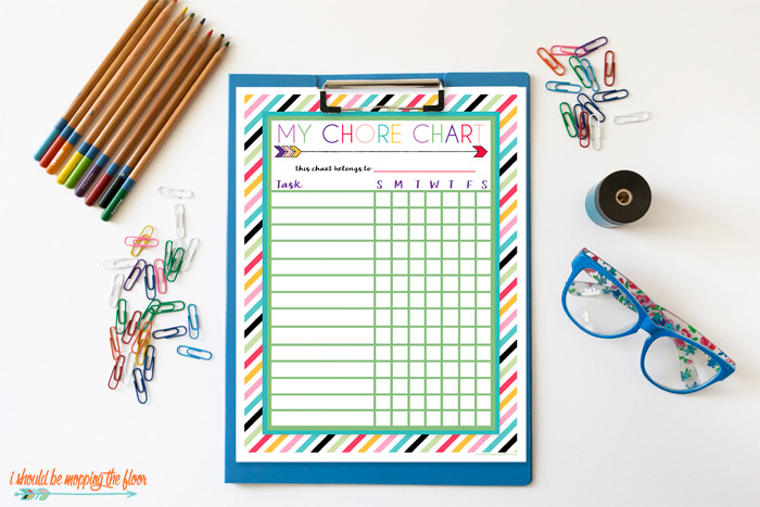 Easy-to-Use Chore Chart