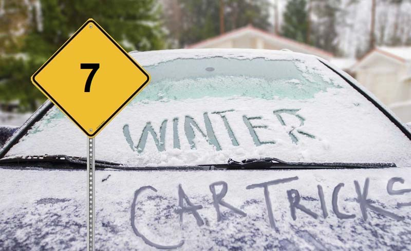 Cleaning & Organizing, Scrapping Icy windshields