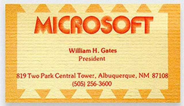 Bill Gates – Microsoft