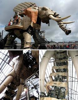 Elefante steampunk