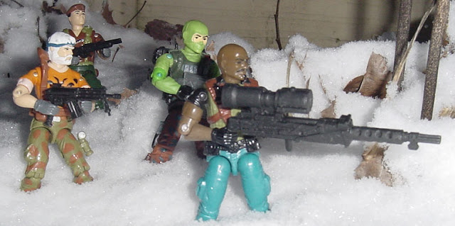 1992 Roadblock, Chinese Exclusive Flint, Funskool Beachhead, European Exclusive Tiger Force Outback