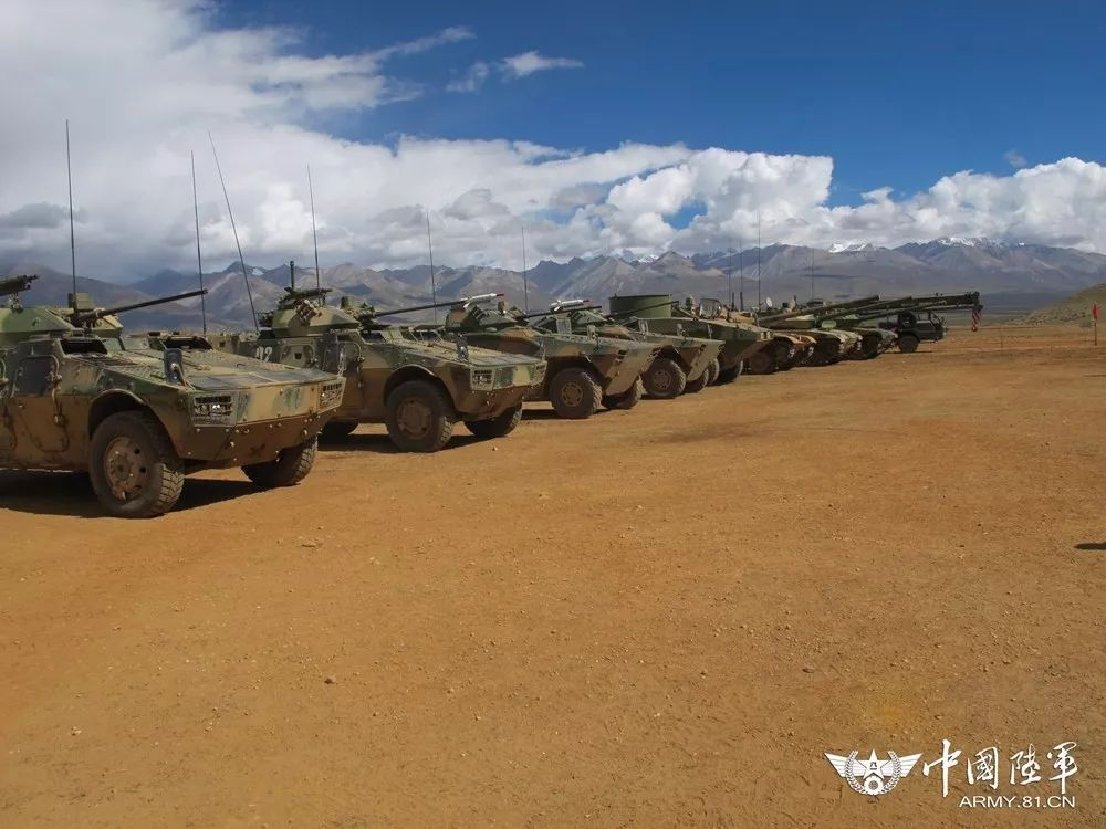 China Defense Blog: Wait a minute, those are QL550 4x4 Recon AFV