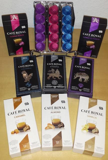 verschiedene Sorten Café Royal