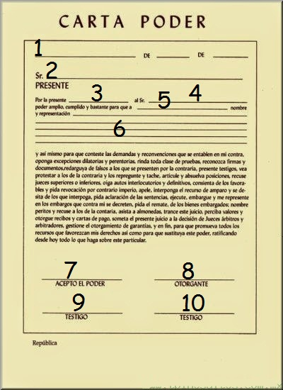 formato de carta poder pdf - Ecosia