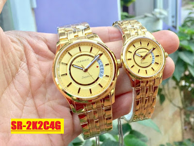 Đồng hồ đeo tay cặp đôi Sunrice SR 2K2C4G