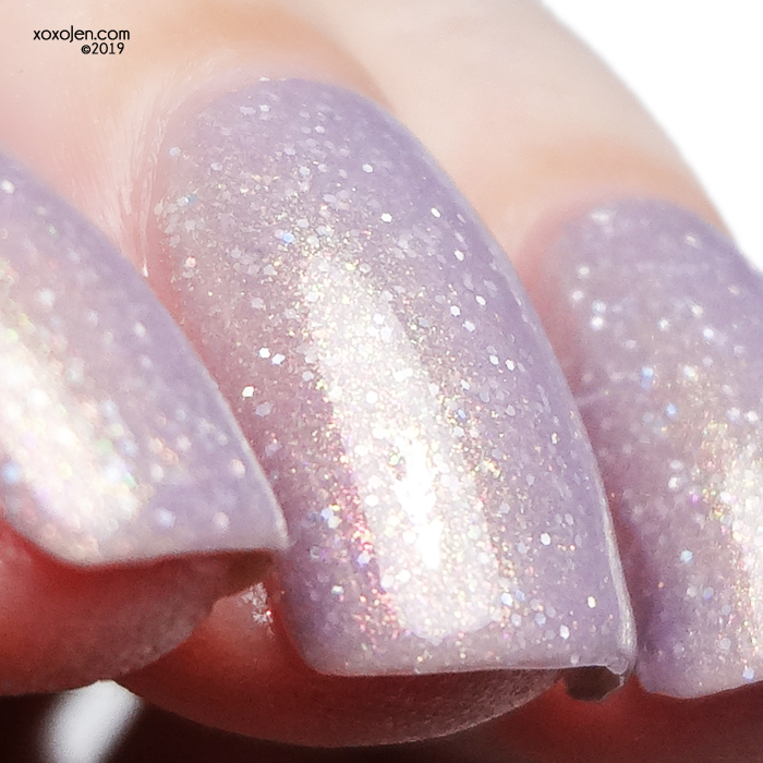 xoxoJen's swatch of Glam Polish No Guy Is Worth Your Life, Not Ever!