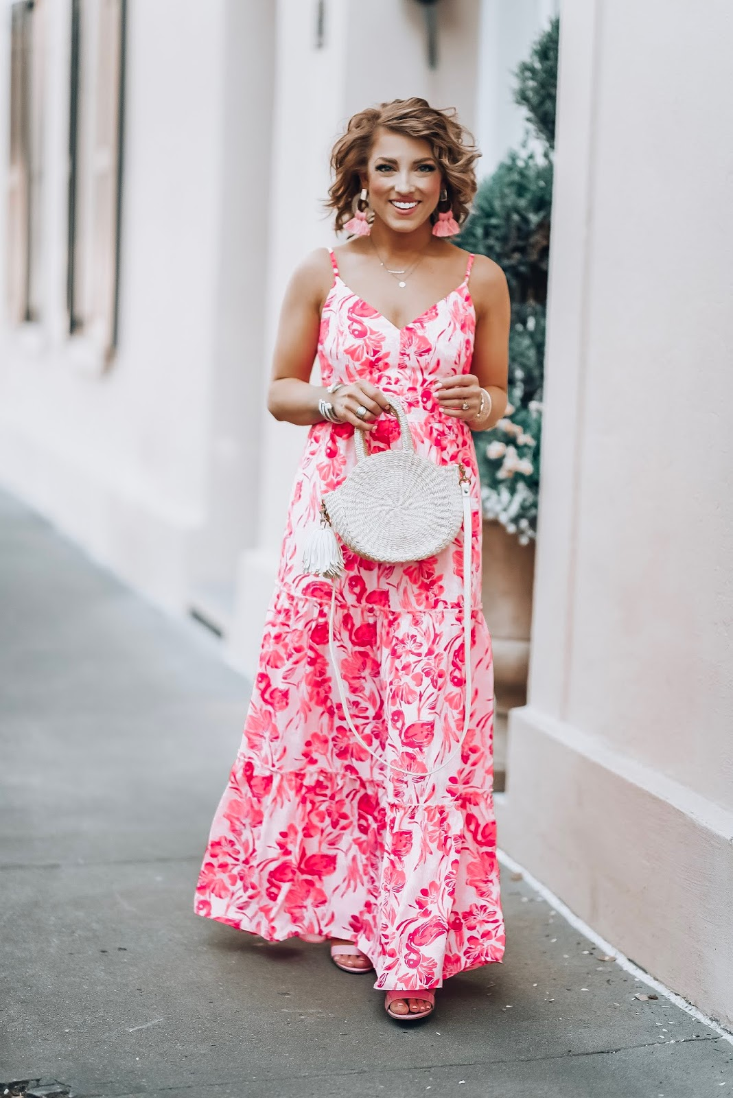 Something Delightful Lilly Pulitzer Melody Maxi Dress In