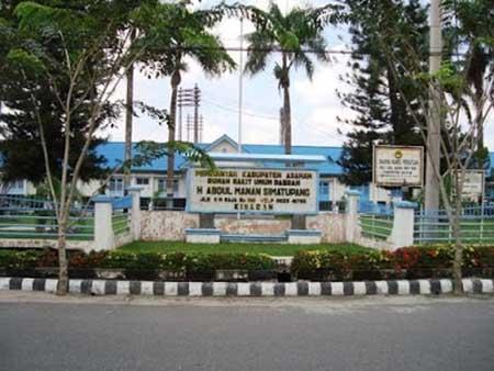 Alamat & Nomor Telepon RSUD Haji Abdul Manan Simatupang