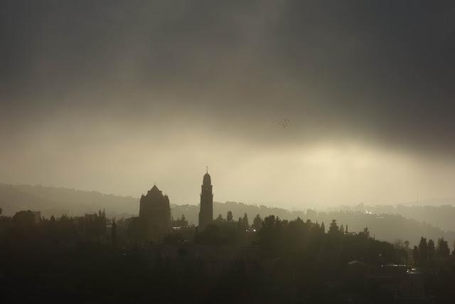 L'Abbaye de la Dormition avec son clocher indépendant - Jérusalem