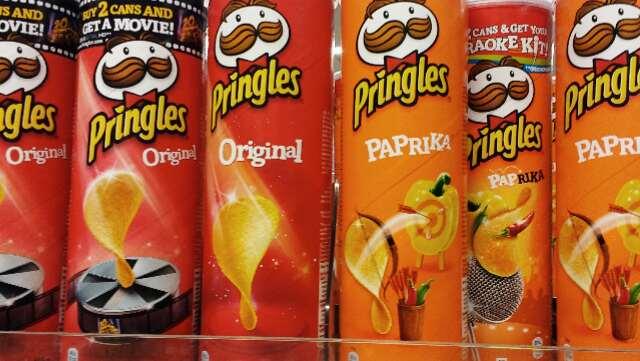 Pringles paprika bevat geen melk en is dus veganistisch