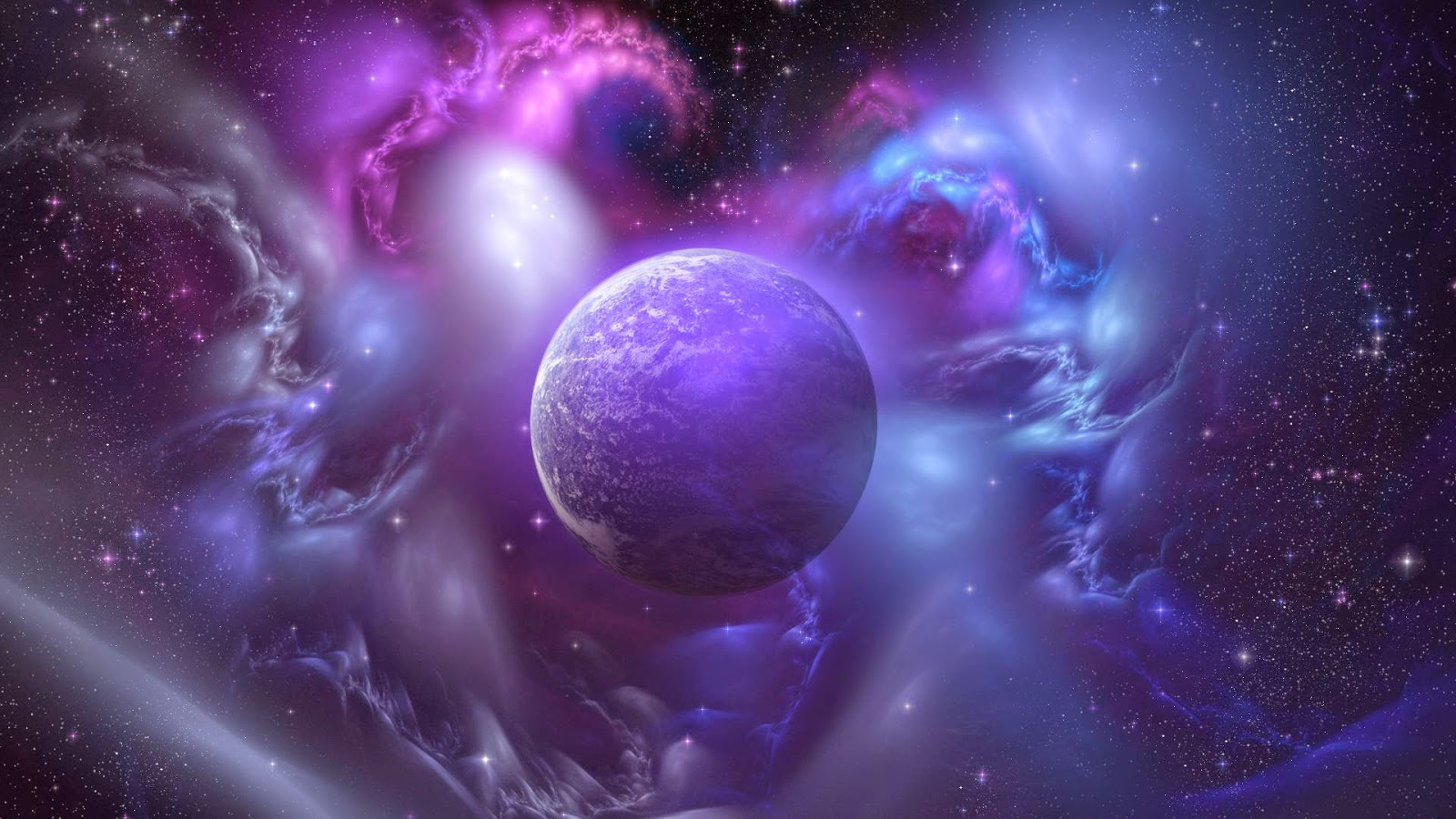 Outer Purple Space   Full HD Desktop Wallpapers 1080p