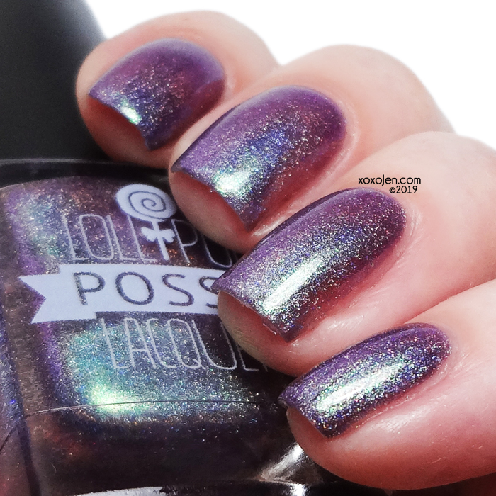 xoxoJen's swatch of Lollipop Posse 3 AM: Soul's Midnight