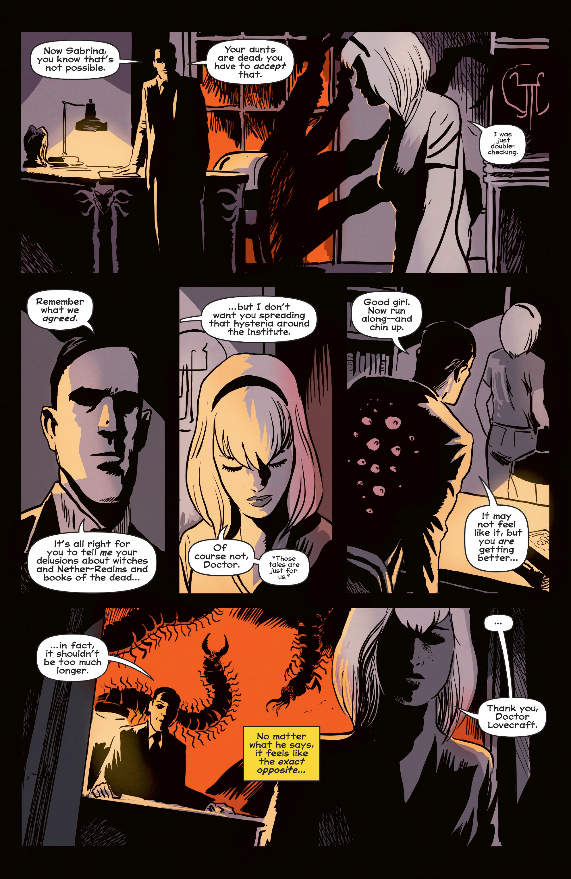 Read online Afterlife with Archie comic -  Issue #6 - 9
