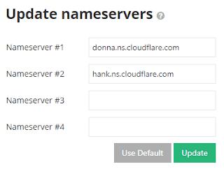 update nameserver