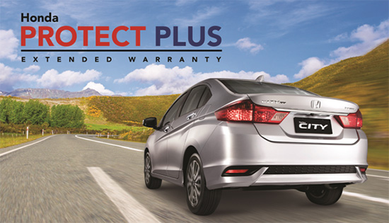 Honda Protect Plus Extended Warranty